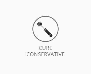 Cure conservative